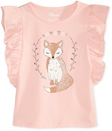 Epic Threads Mix and Match Fox-Print T-Shirt, Little Girls (4-6X), Created for Macy's
