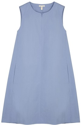 Eileen Fisher Blue stretch-cotton dress