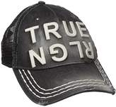 True Religion Men's Denim Tru Rlgn Ball Cap