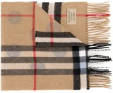 Burberry multiple pattern scarf