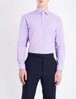 Ralph Lauren Purple Label Aston checked regular-fit cotton shirt