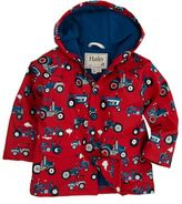 Hatley Boys 2-8 Printed Raincoat - Farm Tractors