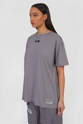 boohoo Oversized Utility T-Shirt