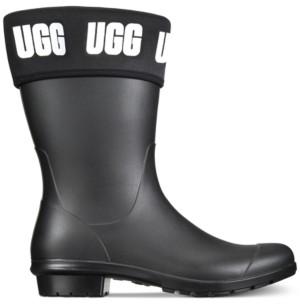 UGG Women's Sienna Matte Graphic Rain Boots