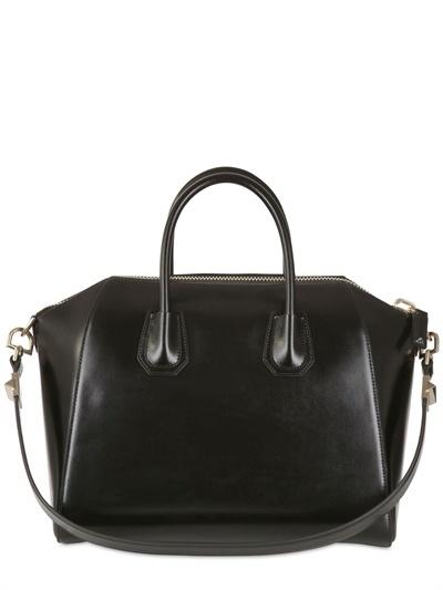 Givenchy Medium Antigona Shiny Smooth Leather Bag