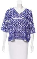 Etoile Isabel Marant Knit Short Sleeve Top