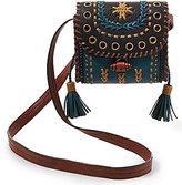 Steve Madden Steven by Tulsa Whip-Stitched Mini Saddle Bag