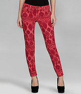 Freestyle Ikat-Print Skinny Pants