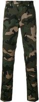 Valentino camouflage print tailored trousers - men - Silk/Cotton/Polyester/Metallic Fibre - 46