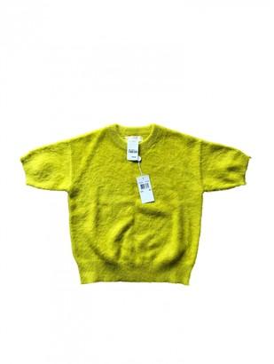 Michael Kors Yellow Wool Knitwear