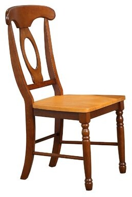 Thoma Napoleon Solid Wood Dining Chair (Set of 2) August Grove