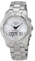 Tissot Women's T-Touch Ii T047.220.44.116.00 Silver Titanium Swiss Quartz Watch with Dial