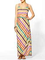 Vince THML Clothing Striped Knit Maxi Dress