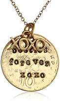 """Alisa Michelle Back To Basics"""" Gold-Plated Besties Charm Necklace, 18"""""""