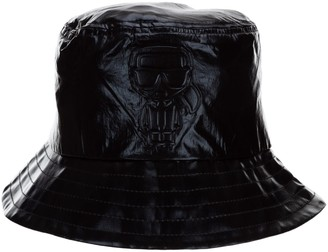 Karl Lagerfeld Paris K/Ikonik Metallic Bucket Hat