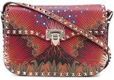 Valentino Garavani 'Rockstud Volcano' flip-lock shoulder bag