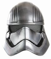 Star Wars Episode VII The Force Awakens Captain Phasma Kids Costume Half Helmet