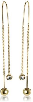 Pilgrim Earrings : Meg : Gold Plated : Crystal
