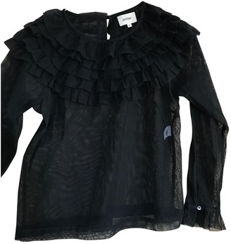 Polder Black Lace Top for Women