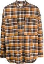 Fear Of God Plaid Pullover Henley shirt