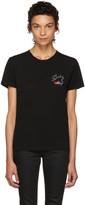 Saint Laurent Black Bouche T-Shirt