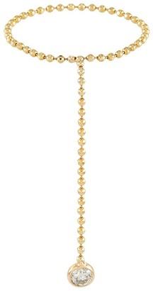 Xiao Wang Elements' diamond 14K gold bead ring