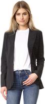 Norma Kamali Sing Breasted Bonded Jacket