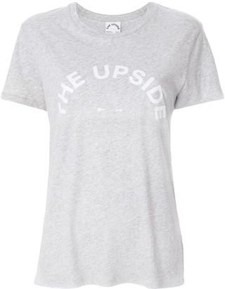 The Upside Hey Sunshine slogan T-shirt