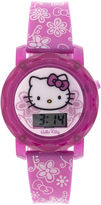 Disney Hello Kitty Kids Flashing and Sound Digital Watch