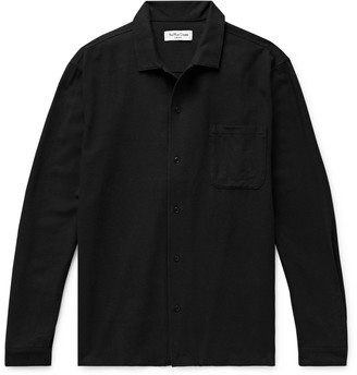 YMC Feathers Camp-Collar Woven Shirt