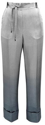 Roland Mouret Woodlark metallic trousers