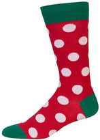 Hot Sox Holiday Dotted Socks