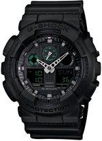 G-Shock Men's Analog-Digital Black Resin Strap Watch 55x52mm GA100MB-1A