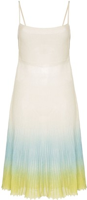 Jacquemus La robe Helado ombre effect dress