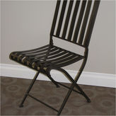Asstd National Brand 4D Concepts Rounded Metal Folding Chair - Set of 2