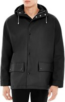 Sandro Slick Hooded Coat