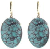Jamie Joseph Oval Chinese Turquoise Earrings