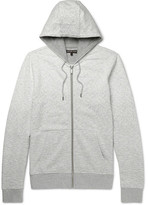 Michael Kors Dégradé Loopback Cotton-Jersey Zip-Up Hoodie