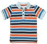 Rockin' Baby Striped Short Sleeve Polo Shirt
