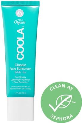 Coola Classic Face Sunscreen SPF 50 White Tea