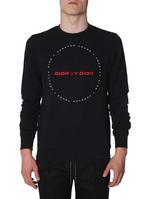Christian Dior Homme By And forever Young Embroidery Sweatshirt