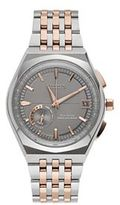 Citizen Eco-Drive Men's Satellite Wave Two Tone Stainless Steel World Time GPS Watch - CC3026-51H