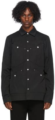 Rick Owens Black Four Pocket Outershirt Jacket