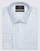 Marks and Spencer 2in Longer Pure Cotton Non Iron Shirt