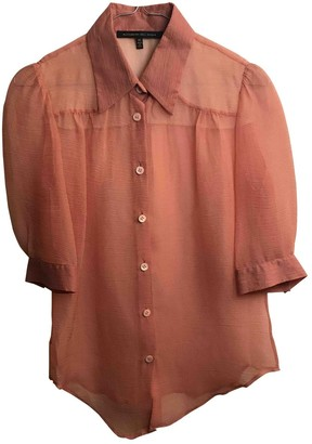 Alessandro Dell'Acqua Pink Silk Top for Women