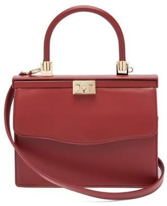Rodo Paris Medium Leather Bag - Red