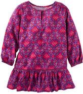 Osh Kosh Printed Ruffle-Hem Dress