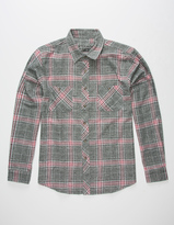 Point Zero DISTORTION Main Street Mens Flannel Shirt
