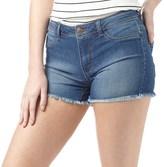 Jacqueline De Yong Womens Skylar Denim Shorts Medium Blue Denim