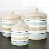 Crate & Barrel Dumont Canisters